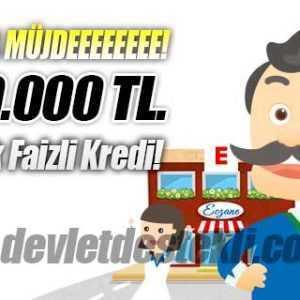 Esnafa 500 Bin Lira Düşük Faizli Kooperatif Halkbank Kredisi