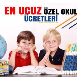 En Ucuz Özel Okul Fiyatları 2021 Dönemi Kolejler (GÜNCEL)
