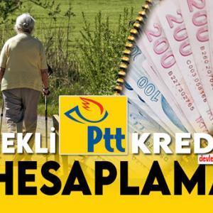 Emekli PTT Kredisi Hesaplama Şartlar ve Faizler