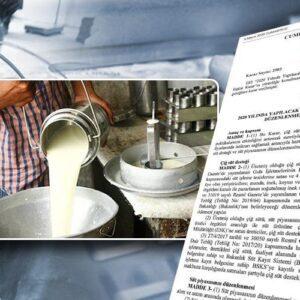 2021-2022 Yılı Çiğ Süt Desteği Tavsiye Fiyatı Belli Oldu