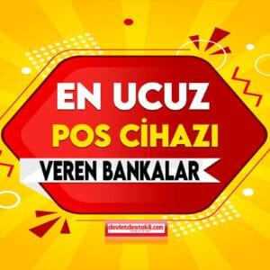Esnafa Ücretsiz Pos Cihazı Veren Bankalar EKİM 2021