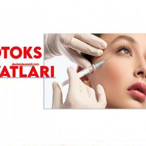 Botoks Fiyatları 2021 (Alın, Kaz Ayağı Baby Botox, Dudak, Yüz)