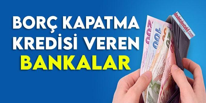 Akbank Borç Kapatma Kredisi Veriyor
